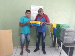 Read more about the article Kits de Material Escolar foram entregues aos associados do Sindicato
