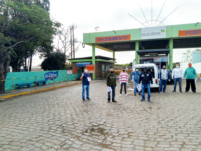 Sindicato rejeita propostas da Eucatex em defesa dos direitos dos trabalhadores