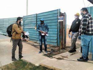 Diretores visitam obras da Construtora Rio Branco