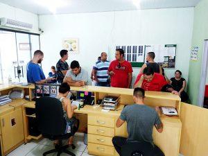 atendimento ao público no sindicato em Salto