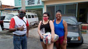 Sindicato segue entregando cestas para os trabalhadores que precisam em Salto