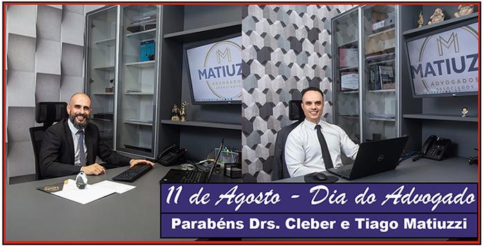 Read more about the article Parabéns a todos os advogados pela passagem do Dia do Advogado